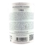 Rivesaltes Ambré - Collection 1985