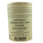 Coffret - Sauternes - Château Terrefort des Chons - 8 Macarons personnalisés.