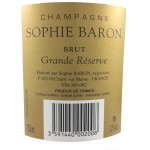 Champagne - Sophie Baron Grande Réserve - Brut