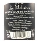 Loire - Saint Nicolas de Bourgueil - Cuvée Prestige - Les Mélusines