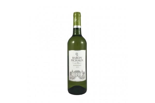 Bordeaux - Blanc - Baron Pichaux - 12° -2015 -75 cl