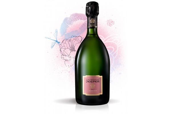 Champagne - JEEPER - Cuvée Grand Rosé - 12° - Brut - 75 cl