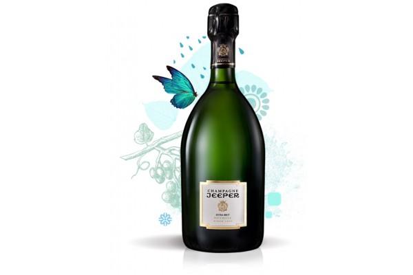 Champagne JEEPER - Cuvée Brut Naturelle - 75 cl - 12° - BIO